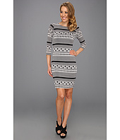 Karen Kane - Geo Contrast Dress