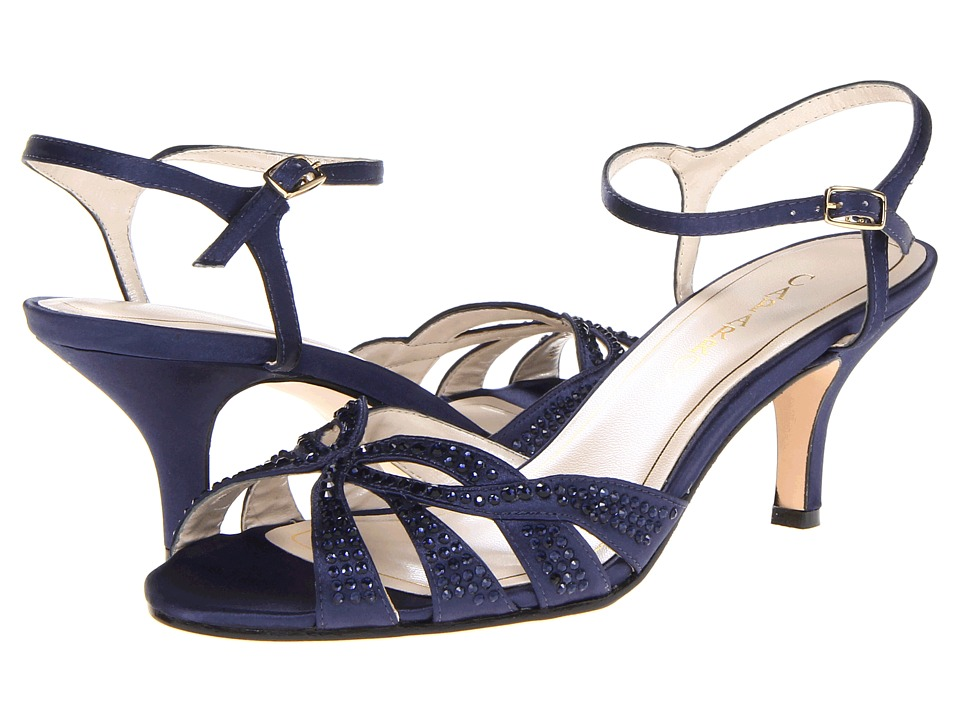Caparros Heirloom (True Blue Satin) High Heels