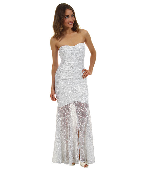Gabriella Rocha - Talib Dress (White/Silver) - Apparel