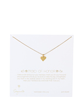 Dogeared Jewels - Bridal Maid of Honor Perfect Heart Necklace