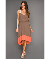 Jessica Simpson - Pleated Colorblock Dress w/ Crisscross Back