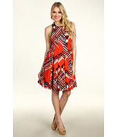 Jessica Simpson - Halter Dress w/ Full Pleat Skirt