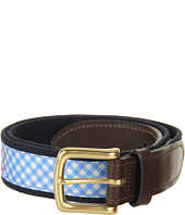 Vineyard Vines - Kentucky Derby® Gingham Horseshoe Club Belt