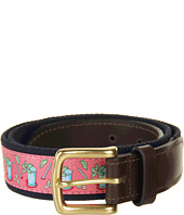 Vineyard Vines - Kentucky Derby® Mint Julep Canvas Club Belt