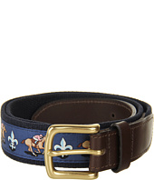 Vineyard Vines - Kentucky Derby® Fleur De Lis Club Belt