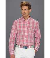 Vineyard Vines - Sailing Plaid Poplin Collegiate Shirt