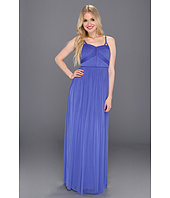 Jessica Simpson - Gathered Spaghetti Strap Gown w/ Bust Detail