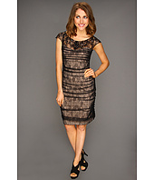 Jessica Simpson - Beaded Ruched Dress w/ Exposed Zipper