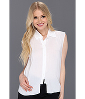 BCBGeneration - Shirred Crop Shirt