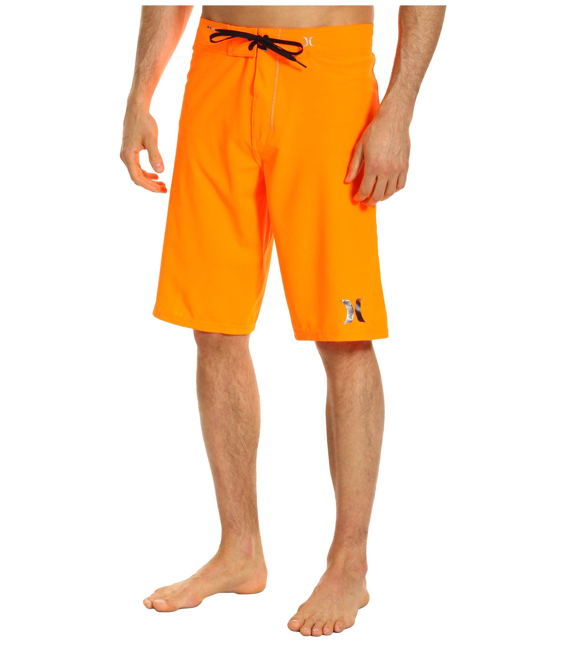 Buy Cheap Hurley Phantom Solid Boardshort Neon Orange