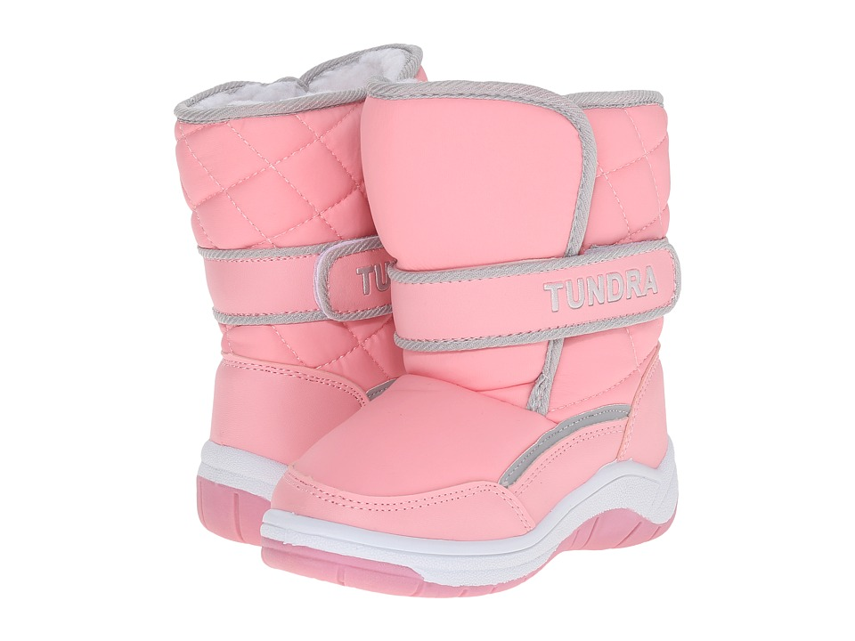 Tundra Boots Kids - Snow Kids (Toddler) (Pink) Girls Shoes