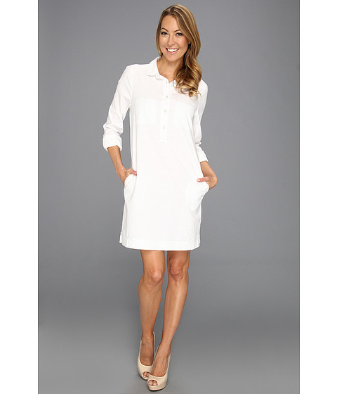 Cheap Calvin Klein Jeans L S Shirt Dress White