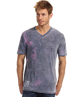 DKNY Jeans - S/S Double Burnout V-Neck Tee
