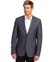 DKNY Jeans - 2-Button Chambray Dot Blazer
