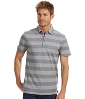 DKNY Jeans - S/S 2-Tone Pique Stripe Polo - Slim Fit