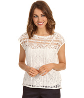 DKNY Jeans - Lace Boxy Top