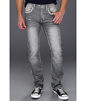 Buffalo David Bitton - Six Kiuri Vintage Slim Straight in Grey
