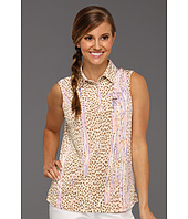 DKNY Golf - Animal Print Sleeveless Top