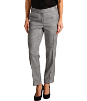 Anne Klein Petite - Glen Plaid Pant with Cuff