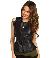 BCBGMAXAZRIA - Liu Leather Vest