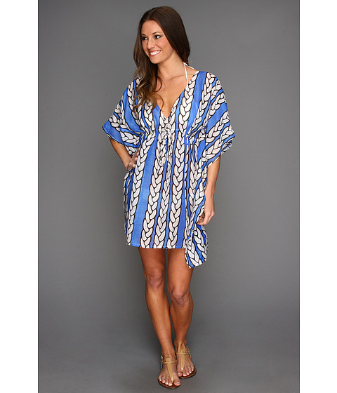 Shop Echo Design - Status Ropes Butterfly Coverup Primary Blue  and Echo Design online - Women, Clothing, Swimwear, Cover Ups online Store