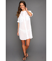 Echo Design - Cotton Crinkle Shirt Dress Coverup