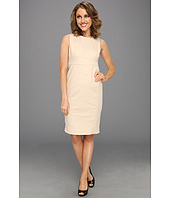 Anne Klein Petite - Petite Crew Neck Sheath Dress