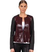 Rachel Roy - Leather Mix Jacket