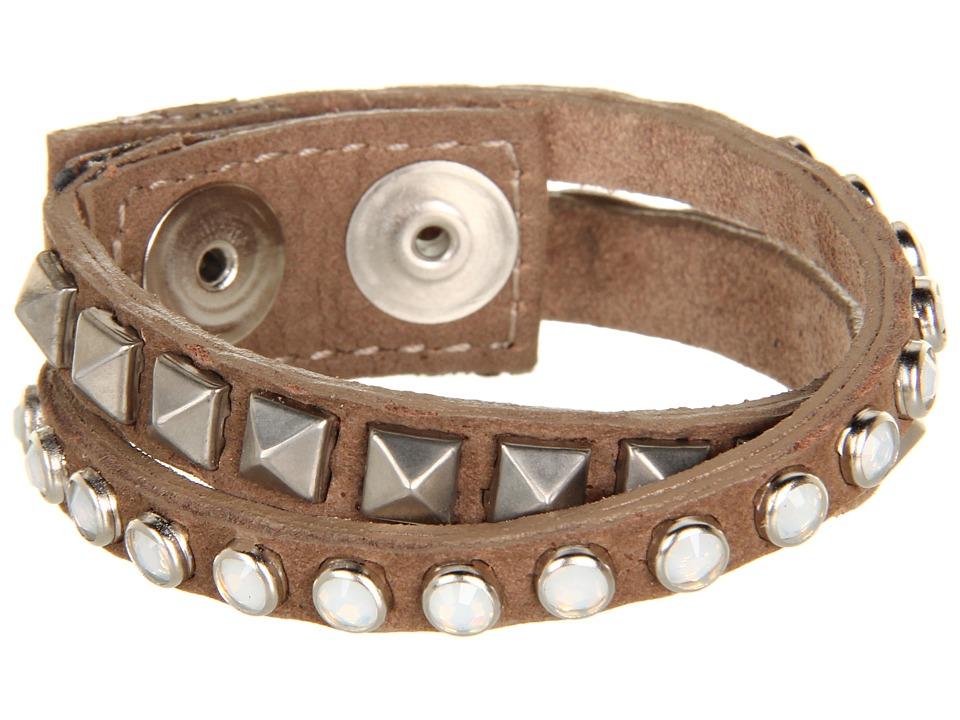 Leatherock - B337 (Brown) Bracelet