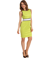 Donna Morgan - Delia Scuba Colorblock Dress