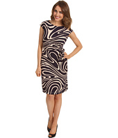Donna Morgan - Cora Printed Side Tie Dress