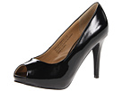 rsvp Spencer Peep Toe Pump (Black Patent)