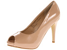rsvp Spencer Peep Toe Pump (Nude Patent)