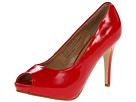 rsvp Spencer Peep Toe Pump (Red Patent)