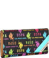 U.S. Polo Assn - Carry-On Print Check Clutch