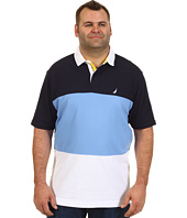 Nautica Big & Tall - Big & Tall Colorblock S/S Polo