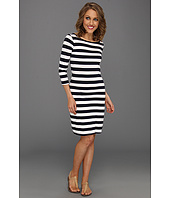 Three Dots - Block Stripe British Dress