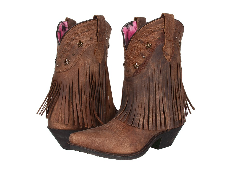 Dingo Hang Low Brown Distresssed/Crazyhorse Goat Cowboy Boots
