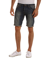 G-Star - Attac Low Tapered Short in Volt Denim Medium Aged
