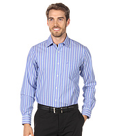 Nautica - Mirror Stripes L/S Poplin Shirt
