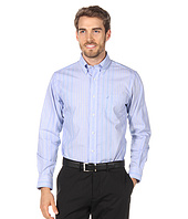 Nautica - Poplin Stripe Spread Collar Shirt