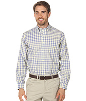 Nautica - L/S Small Plaid Classic Poplin Shirt