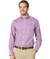 Nautica - Small Plaid L/S Classic Poplin Shirt