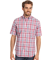 Nautica - Big & Tall Medium Plaid S/S Poplin Shirt