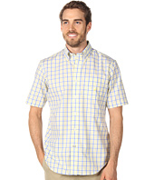 Nautica - Small Plaid S/S Poplin Shirt