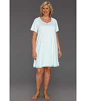 Karen Neuburger - Plus Size A Moment In Time S/S Henley Nightshirt