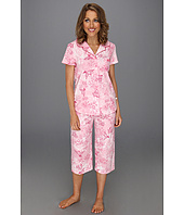 Karen Neuburger - Petite Fly With Me S/S Girlfriend Crop PJ