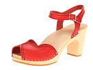 Swedish Hasbeens - Heart Sandal (Red) Sandal