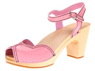 Swedish Hasbeens - Heart Sandal (Bubble Gum Pink) Sandal