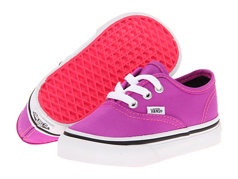 My Opinion for Vans Kids Authentic (Infant/Toddler) (Neon) Purple/True